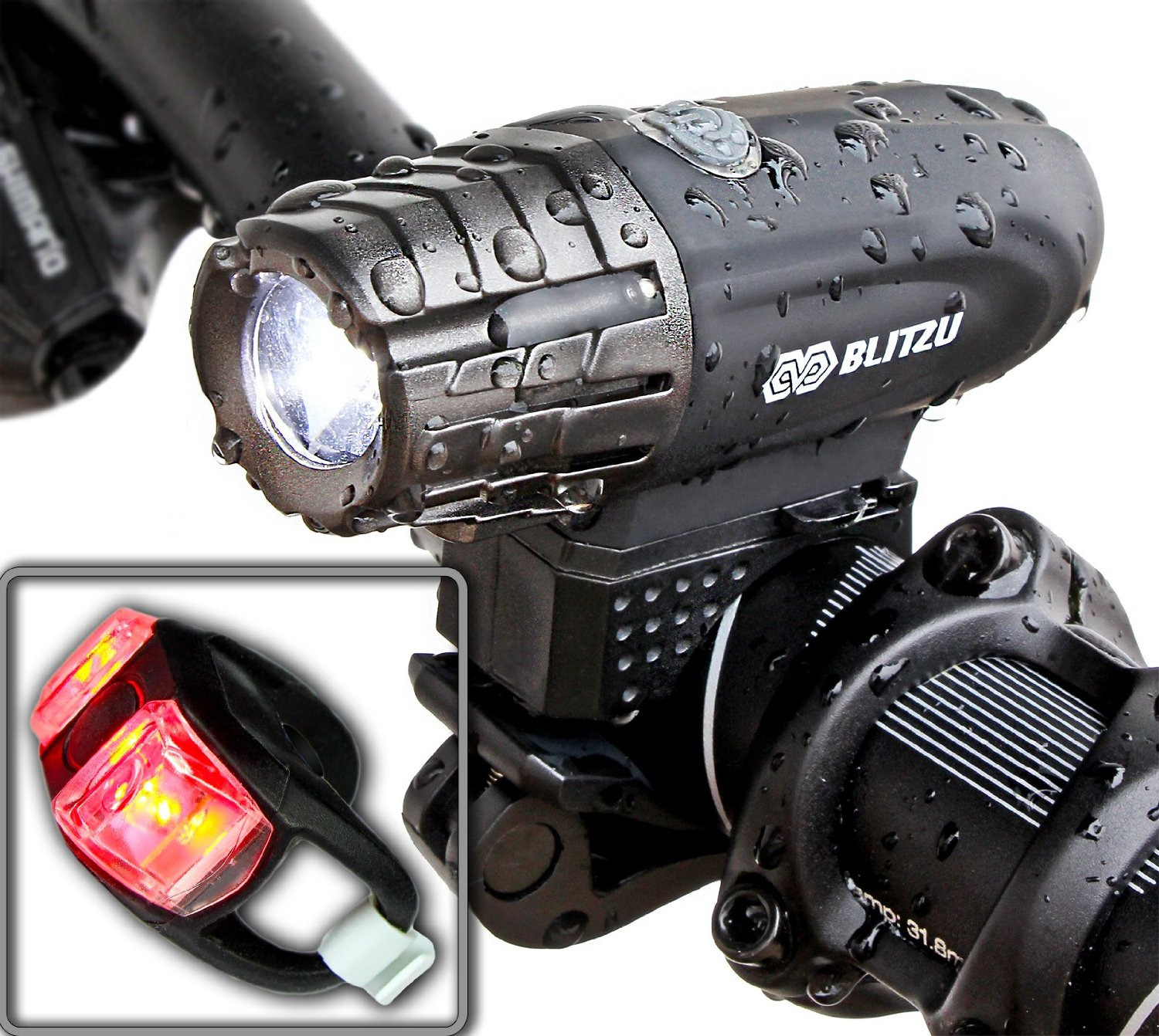 Super Bright USB Rechargeable Bike Light