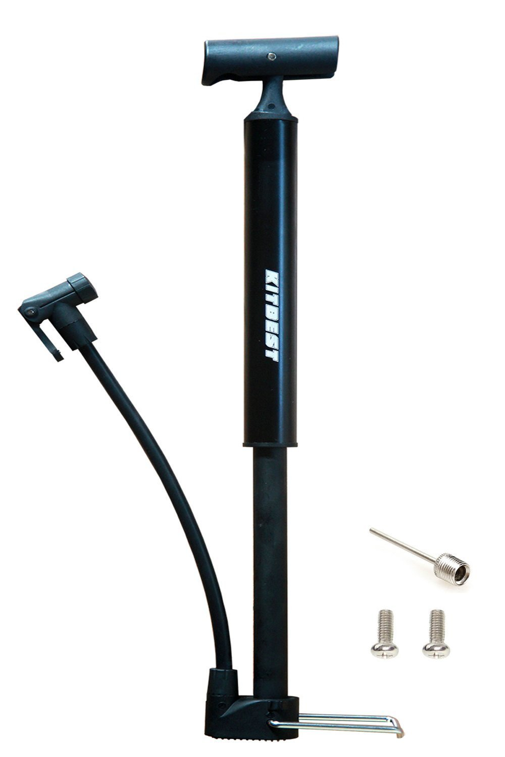 Kitbest Aluminium Alloy Portable Bike Floor Pump