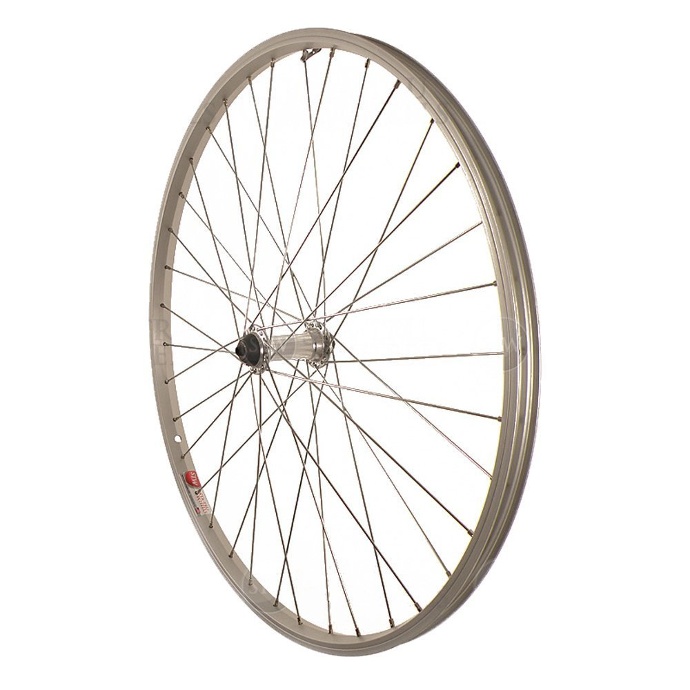 Sta-Tru Silver Alloy ATB Hub Quick Release Front Wheel
