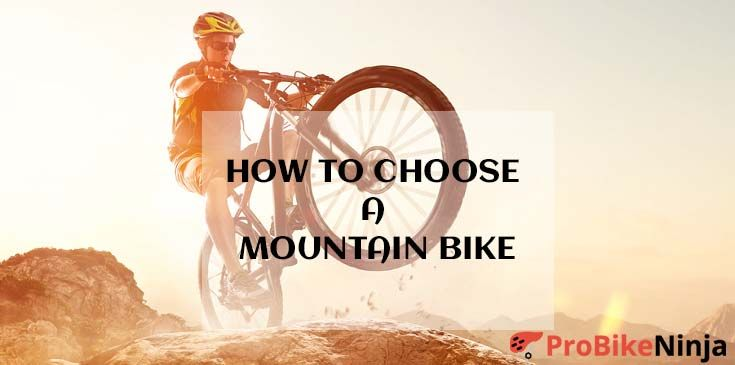 choosing a mountain bike