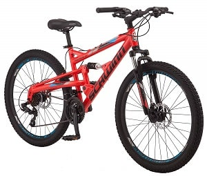 Schwinn Protocol 1.0 Dual-Suspension Mountain Bike