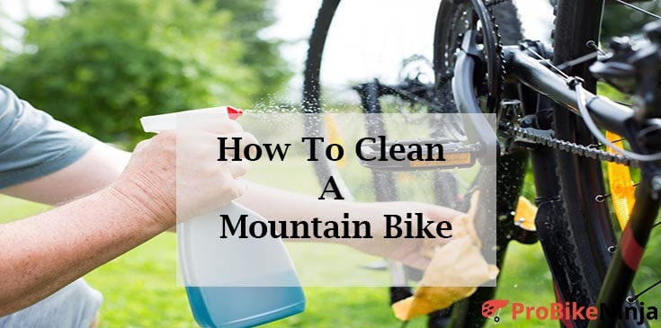 cleaning mountian bike