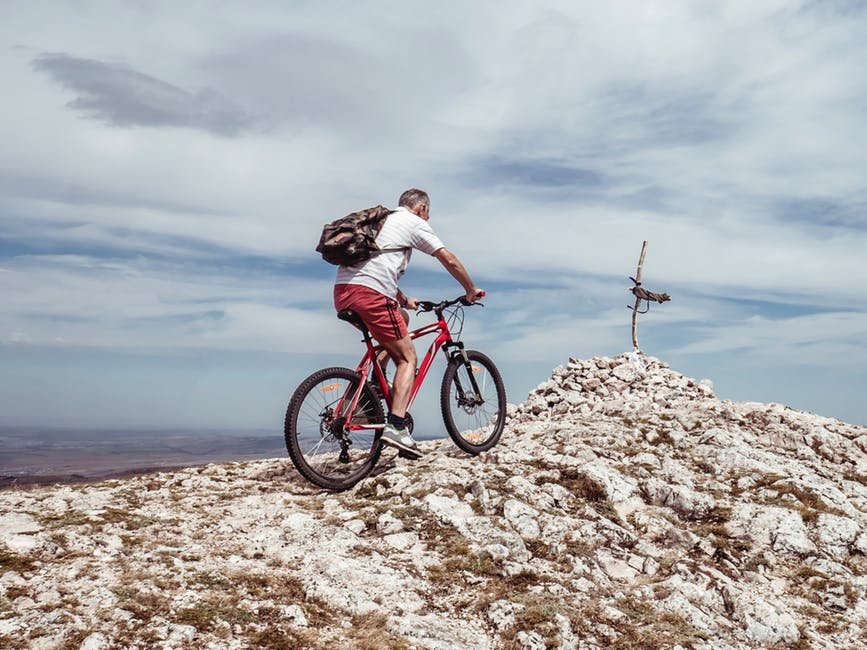 can i ride a mountain bike on the road