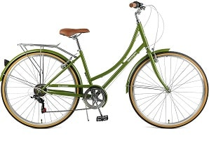Retrospec Beaumont-7 Seven Speed Lady's Urban City Commuter Bike